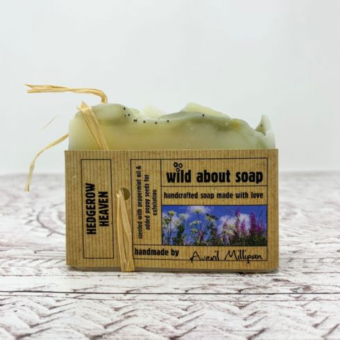Averil Milligan - Wild About Soap Natural Hedgerow Heaven